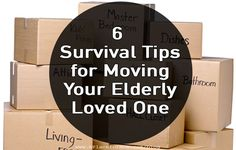 Whether moving a mother across the country into a new home, or moving both parents into a senior community, the process can be challenging. Senior Assisted Living, Senior Living, Survival Prepping, Survival Skills, Survival Shelter, Survival Gear, Senior Communities, Aging In Place, Aging Parents