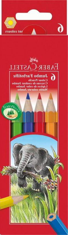 Набор цветных карандашей Faber-Castell Jumbo 6 шт 111206