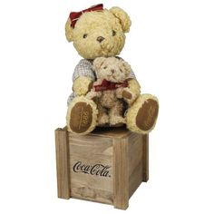 Coca-Cola Teddy bear 1886 Limited Edition from Japan