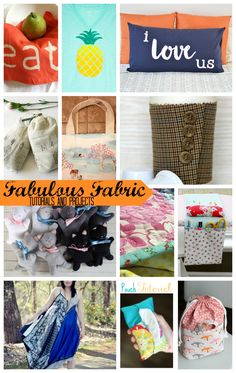 fabulous Fabric Proj
