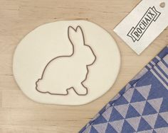 Bunny Cookie Cutter  Rabbit Cookie Cutter Animal by RochaixCo