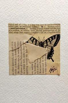 caterinagiglio: Antique Paper Collage & 142 Bis Gallerie