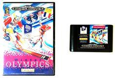 Sega Megadrive – Winter Olympics (Boxed) Sega Sega Megadrive www. Lillehammer, Sega Mega Drive, Winter Olympics, Toy Store, Action Figures, Console, Games, Toys, Winter Olympic Games