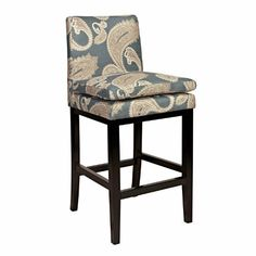 angelo:HOME Marnie Bar Stool, 30-Inch, Feathered Paisley French Blue by angelo:HOME, http://www.amazon.com/dp/B00DSY892G/ref=cm_sw_r_pi_dp_Tfz8rb1S794EP