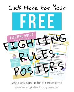 The way you can stop siblings from fighting constantly is to give them conflict management tools! Here are fair fighting rules every family should adopt! Behavior Management Strategies, Sibling Fighting, Angry Child, Rules For Kids, Sibling Relationships, Conflict Management, Kids Schedule, Emotional Regulation, Mental And Emotional Health