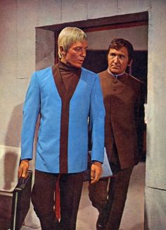 Ed Straker and Alec Freeman, UFO.