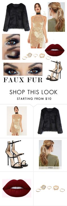 """""""🌃Night Out in Town🌃"""" by sophia01998 ❤ liked on Polyvore featuring Missguided, Chicwish, Giuseppe Zanotti, Kitsch and GUESS"""