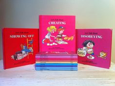 Vintage lot of 12 Let's Talk About Series by theanytimeshop, $24.00