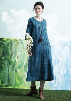 564961886b1c Túnica Roja vestido   ropa de invierno manga larga por camelliatune Μπλε  Νυφικά