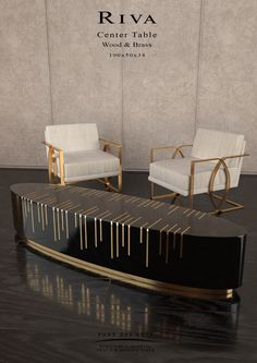 Désir Armchair & Riva center table - Studio Pont des Arts - Designer MONZER Hammoud - Paris