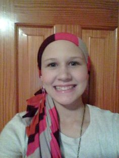 Hey! So i like to wear scarves since i lost my hair while going through chemotherapy. And some of my friends supported me yesterday(june 21) by wearing a scarf, so now, if you would like to support me please send me a picture of you wearing a scarf. I'd love to see it!! U can send it to me trough a pinterest message, or put it on facebook and use the hashtag #prayforliz thanks guys!!!!!!!!