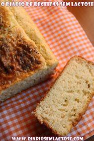 O Diário de Receitas Sem Lactose: Pão de Arroz Sem Lactose Sem Glúten Sem Soja