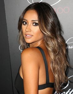 Actress Shay Mitchell attends the 'Pretty Little Liars' 100th episode celebration at W Hollywood on May 31, 2014 in Hollywood, California.
