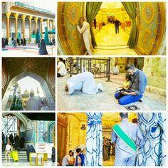 [ 29 Shawwal 1437 ]  The Atmosphere Inside Al-Jawadain Holy Shrine.
