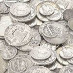Start searching for real silver coins. Now you can still buy real silver coins; the exchange rate for 1 silver quarter for $1.00 dollar in US paper currency. (good & complete blog on prepping)