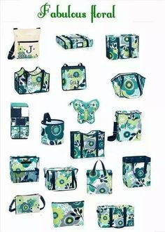 Spring 2015 Thirty One Gifts Fabulous Floral print collection. Shop now at http://www.mythirtyone.com/344723