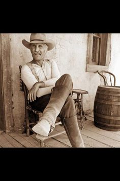 Lonesome Dove... Love me some Gus!