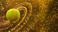 Tennis ball galaxy