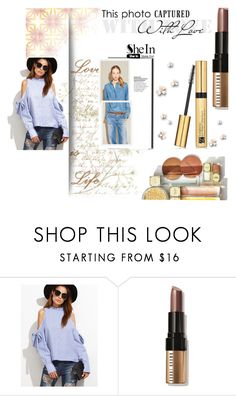 """""""sheinside"""" by almerisaaa ❤ liked on Polyvore featuring Michael Kors, Bobbi Brown Cosmetics and Estée Lauder"""