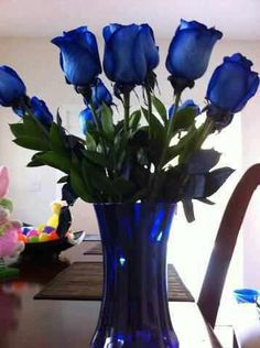 Blue roses by Autism Speaks