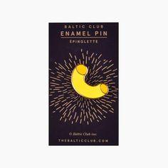 Macaroni Enamel Pin