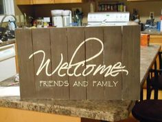 pallet signs, crafts, pallet projects, repurposing upcycling, Welcome Sign