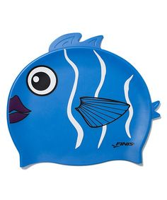 That's just funny. Take a look at this Animal Heads Reef Fish Swim Cap by FINIS on #zulily today!