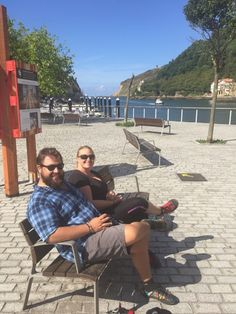"""""""We went on a two week adventure through Spain and France last September and our SOMs were the only shoes we needed! They were comfortable, stylish, versatile for dining, wine tours, miles of city walking and trail hikes! I think you already know we love our SOMs, but wanted to share some photos!"""" T.J. - Montrose, CO"""