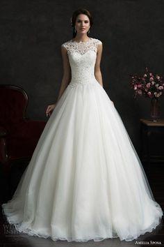 25 vestidos para una boda de princesa, rescatados de Pinterest