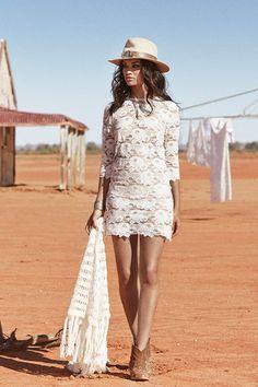 Rosamond Lace Mini Dress