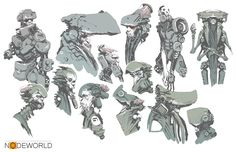 Nodeworld Sketches, Darren Bartley on ArtStation at http://www.artstation.com/artwork/nodeworld-sketches