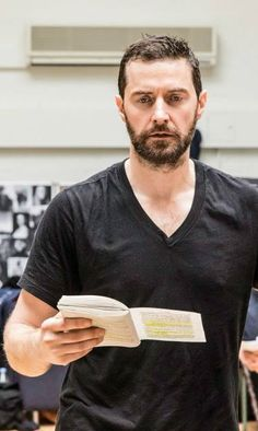 Richard Armitage from 'The Crucible' rehearsals #RichardArmitage