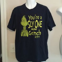 🎄 Men's t shirt 🎄 Men's t shirt, great for Christmas‼️‼️ The Grinch Shirts Tees - Short Sleeve