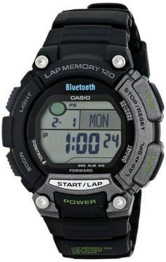 Omnisync Casio Bluetooth Watch - Sport watches can help you track running distance, time split laps and more .Shop online for sport & fitness watches at: topsmartwatchesonline.com
