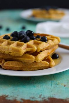 plantain waffles