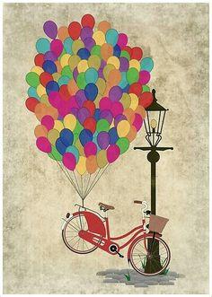 Pyöräily keventää.