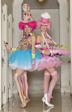 "Too fun...love these costumes! ~ ""Candy Girls"""