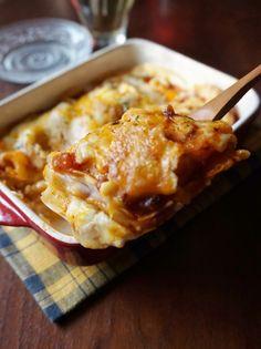 餃子の皮でもっちり食感!「なんちゃってラザニア」を作ろう   レシピサイト「Nadia   ナディア」プロの料理を無料で検索