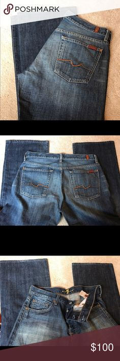 Men's 7 for All Mankind jeans Never worn perfect condition 7 For All Mankind Jeans Relaxed