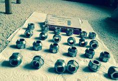 "Silverado 2001 GMC Lug Nut Set For Sale Troy, Ohio + 20"" Aftermarket Rims 6 lug with like new Tires. for $950. Trade?"