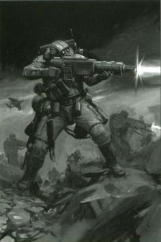 """captainblacklobster: """"The Ordo Tempestus, also known as the Militarum Tempestus is a military organisation of the Imperium. A sub-faction of the Administratum, it enjoys far greater autonomy than the Regiments of the Imperial Guard. The Ordo's ranks..."""