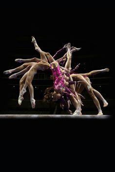 Artistic Gymnast - Gabby Douglas - Slow motion