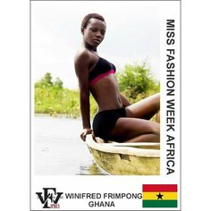 Here is a swimwear submission for the Miss Fashion Week Africa contest by Winifred Frimpong  from Ghana  If you are yet to submit your catwalk video you still have till the 21st to do so. However please take note of the below submissions that you need to make in order to avoid any delay: 1. Catwalk Video that is not more than 60 seconds long. MP4. Format 2. Two (2) Head-shot Photos (Front and Side View) 3. Two (2) Full-Length Photos (Front and Side View) 4. One (1) Swimwear photos 5…