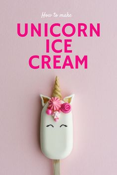 Looking for a fun magical treat? Check out these oh so sweet unicorn ice cream pops! They are the perfect summer sweet packed full of magic!
