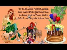 Happy Birthday Liebe Frauke