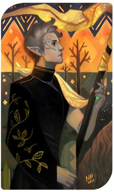 What Are Tarot Cards? Made up of no less than seventy-eight cards, each deck of Tarot cards are all the same. Tarot cards come in all sizes with all types Character Portraits, Character Art, Character Design, Character Concept, Concept Art, Dragon Age Origins, Dragon Age Inquisition, Dragon Age Tarot Cards, Male Elf