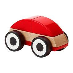 LILLABO Carro de brinquedo IKEA Desenvolve as capacidades motoras finas e o pensamento lógico.