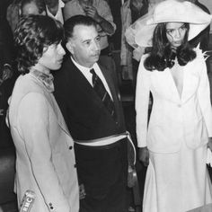 Mick & Bianca Jagger, Vintage Wedding