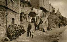 The Cliff, Mevagissey - much as it is today image courtesy of Mevagissey Museum