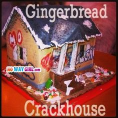 Probably The Most Offensive Gingerbread House Ever! - NoWayGirl